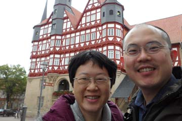 Eddy and Rene in Duderstadt Germany for immunotherapy